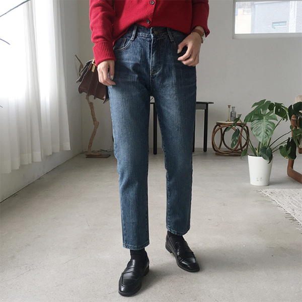 라이브 (denim pants)